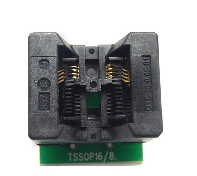 TSSOP8 to DIP8 Bios Programmer Converter Adapter Socket OTS-28-0.65-01