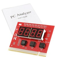 PCI 4-Digit Motherboard Diagnostic Card With User Guide