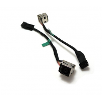 HP PROBOOK 440 445 450 455 G1 G2 DC POWER JACK CONNECTOR SOCKET PORT WITH CABLE