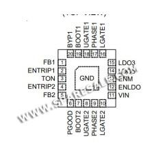 0B , 0B EA, RT8243CZQW RT8243C IC